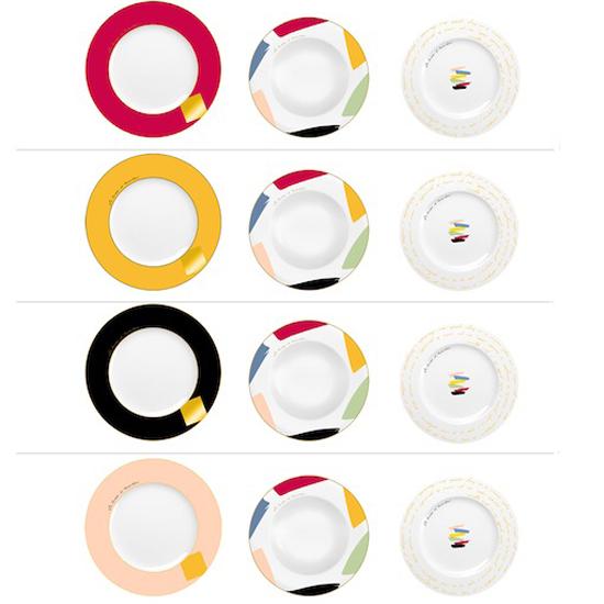 Servizio piatti Color PIERRE CARDIN