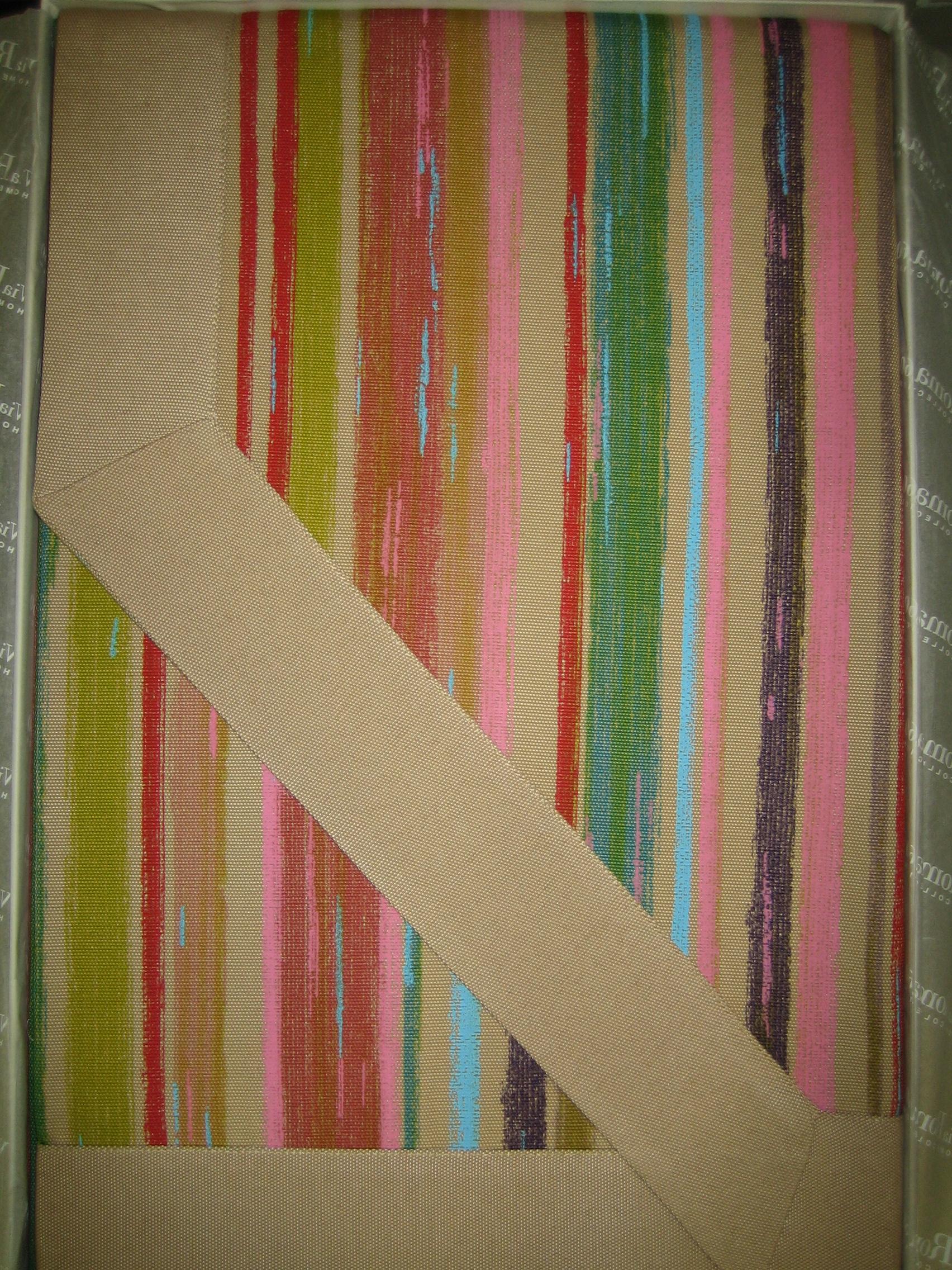 Copriletto leggero Ikebana Righe VIA ROMA,60